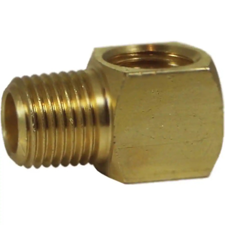 Brass Compact MF Elbow              0125-02