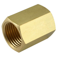 Brass Hex Socket               0126-16