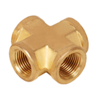 Brass Female Cross (BSP)