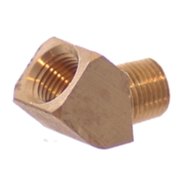 Brass 45 DEG MF Elbow (NPT)