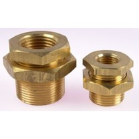 Brass Female Bulkhead    NPT      02N80-04