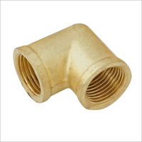 Brass Female Elbow             03P34-12