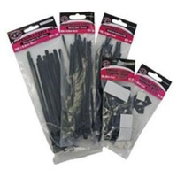 11CT90610-25      Cable Ties  (Black)