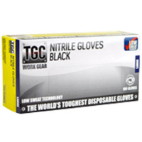 160002    TGC  Black Nitrile Gloves (Medium)
