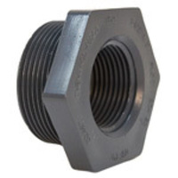 Black Steel Reducing Bush             19BS24-0806