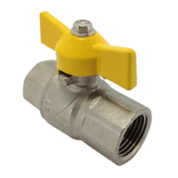 Ball Valve   FF   Gas Approved