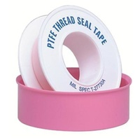 Pink Plumbers Thread Tape