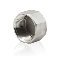 31SS33-08      316 Grade Stainless Steel Hex Cap