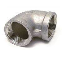 31SS34-08    316 Grade Stainless Steel Female Elbow