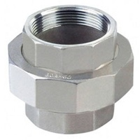 Stainless Steel Barrel Union      31SS85-02     316 Grade