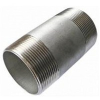 Stainless Steel Barrel Nipple             31SS90-40     316 Grade