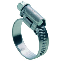 Zinc Screw Worm Drive Hose Clamps W2