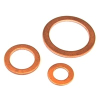 Copper Washers    (Metric)