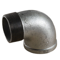 Galvanised Elbow Male/Female