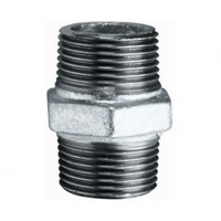 Galvanised Hex Nipple           60GM27-32