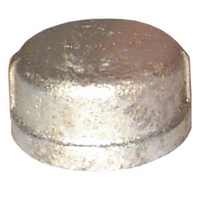 Galvanised Round Cap              60GM33-12
