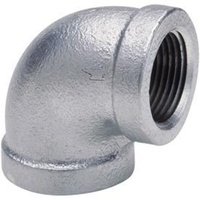 Galvanised Female Elbow          60GM34-08