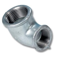 60GM34R-1612               Galvanised Reducing Elbow Fitting