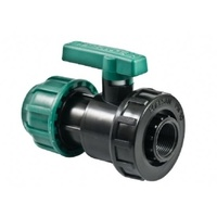 Poelsan Coupling/Female Ball Valve